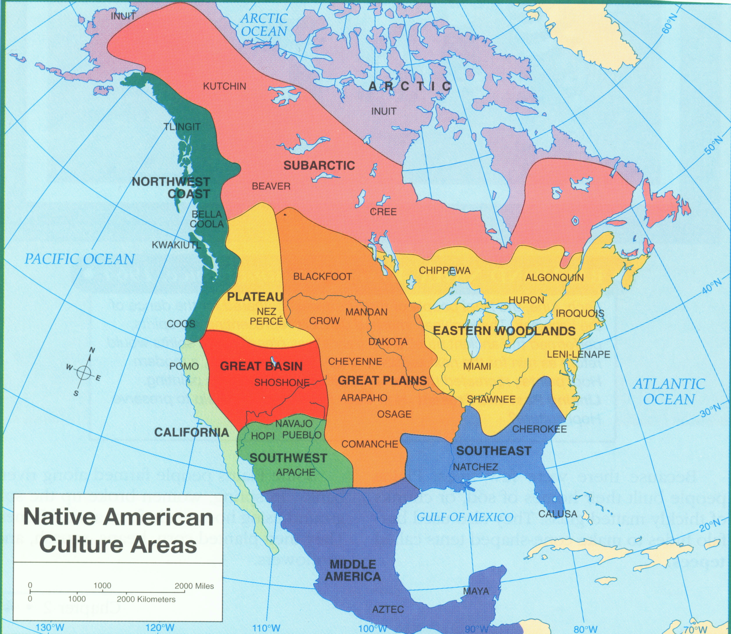 coastal and plateau native americans
